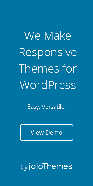 We Make Responsive Themes for WordPress